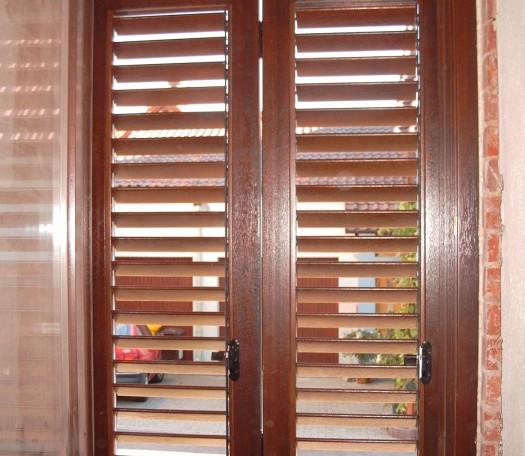 Okiennice drewniane