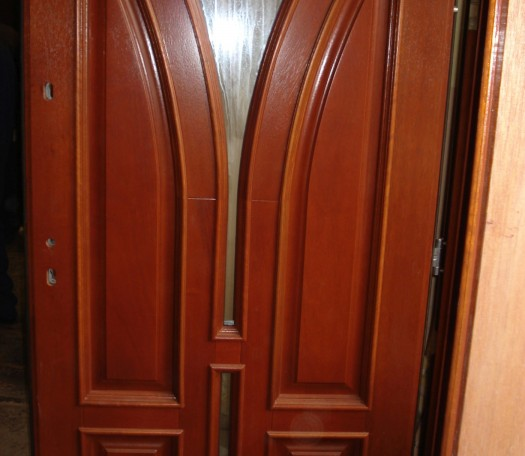 Drzwi drewniane zewnętrzne