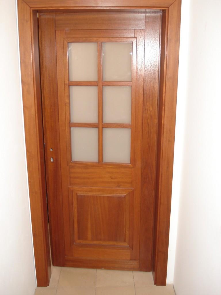 Drzwi drewniane wewnętrzne