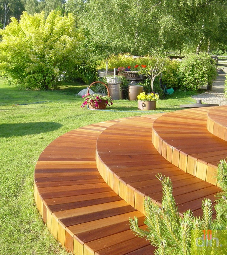 Tarasy drewniane